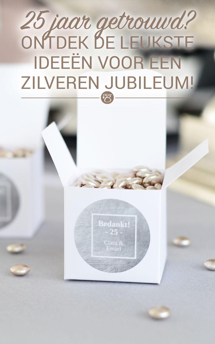 Leuke ideeën om je zilveren jubileum niet zomaar te laten voorbijgaan! #jubilee…