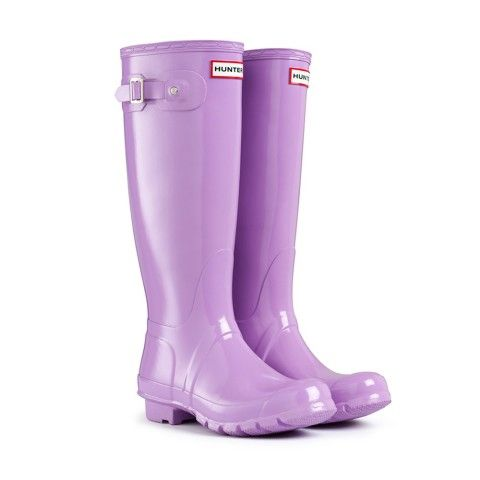 Hunter Boots Original Tall Gloss Wisteria with Free Delivery