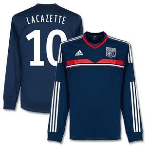 Adidas Olympique Lyon 3rd L/S Lacazette Shirt 2013 2014 Olympique Lyon 3rd L/S Lacazette Shirt 2013 2014 (Fan Style Printing) http://www.comparestoreprices.co.uk/football-shirts/adidas-olympique-lyon-3rd-l-s-lacazette-shirt-2013-2014.asp