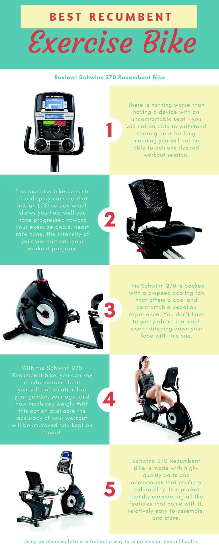 Best Recumbent Exercise Bike Reviews in 2017 | Buyer's Guide ~ Drill Bike