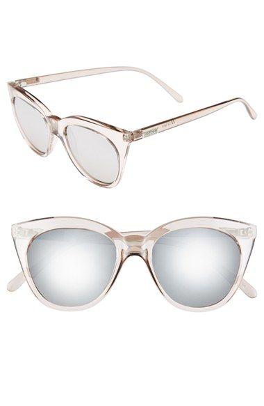 Item #1155378 Le Specs 'Halfmoon Magic' 51mm Cat Eye Sunglasses | Nordstrom