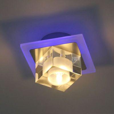 3w Led Crystal Balcony Hallway Light Creative Square Aisle Ceiling Lamp Living Room Ceiling Lighting