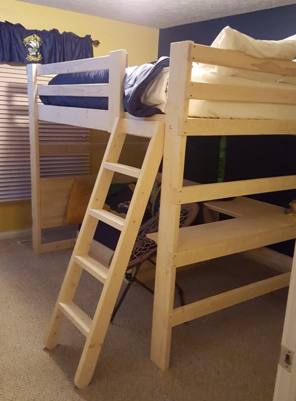 1000 Images About Loft Bed With Lower Seating Reading