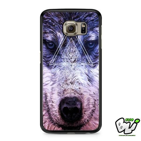 Geometric Wolf Samsung Galaxy S6 Case
