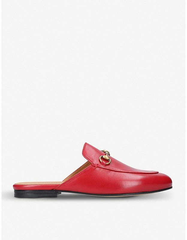 1f8a8d4c917 Gucci Princeton leather slippers