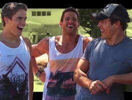 Nic Westaway, Dan Ewing and Steve Peacocke sexiest on-screen' brothers!!