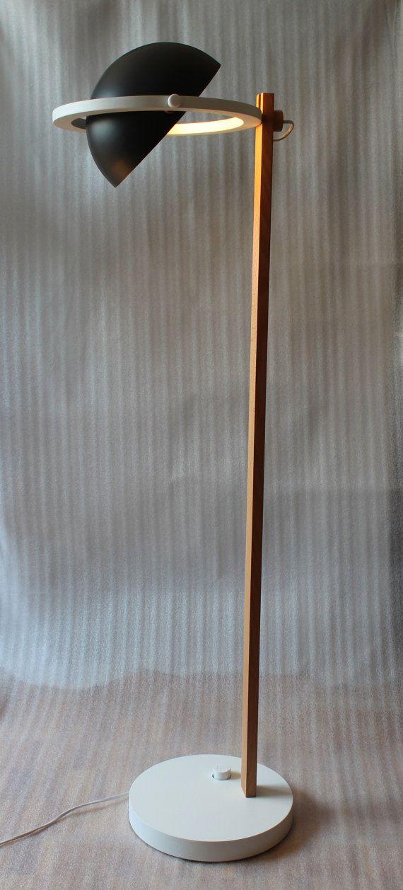 Lámpara de pie de Saturno por CVORworkshop en Etsy