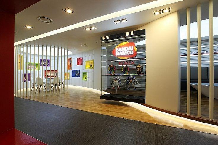 BANDAI KOREA Head office Showroom