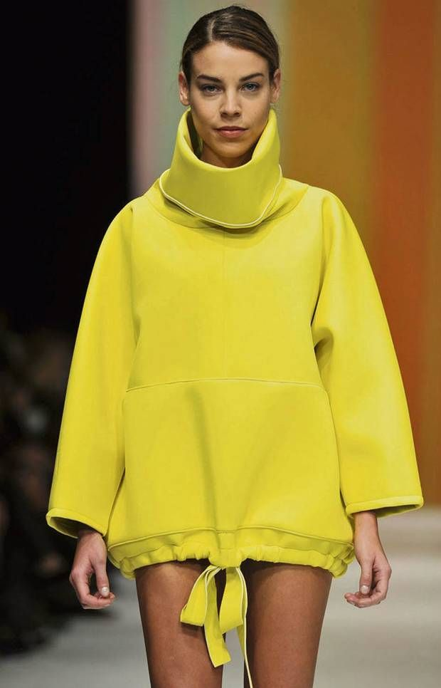 F¬S neoprene fashion...love the shape but we're not convinced about neoprene like fabrics, too stiff?