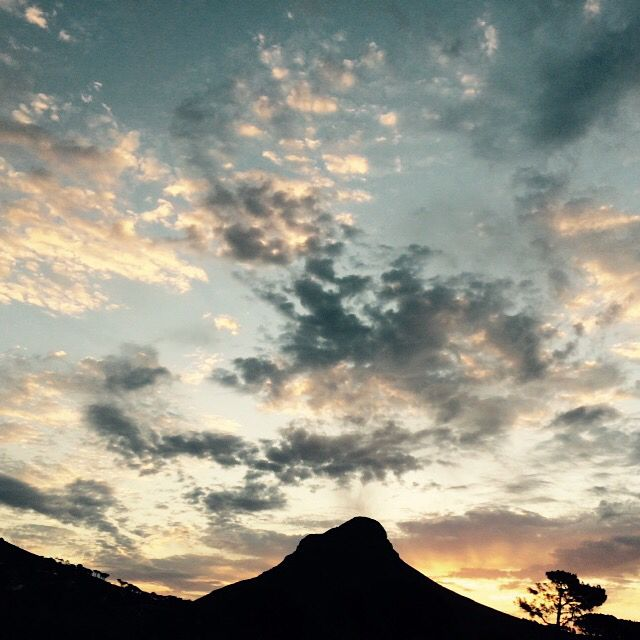 Lion's Head in dramatic sky