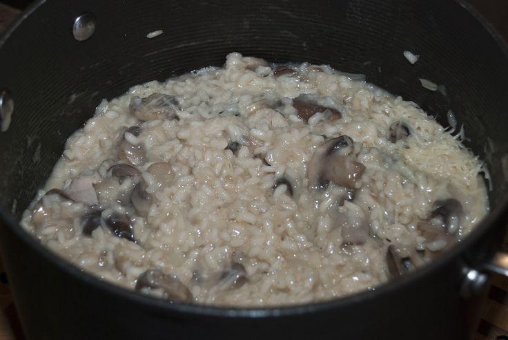International Recipe Day: Risotto ai Funghi | Risotto con Champiñones