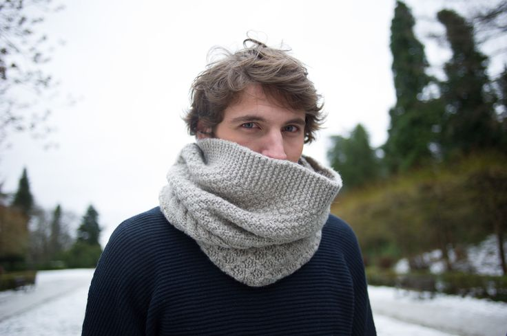"SNOOD***  ANGORA-CACHEMIRE  LES INSEPARABLES COLLECTION HIVER 2013-2014 ""PAYS SAUVAGES"" 100% MADE IN BELGIUM with LOVE www.les-inseparables.be"