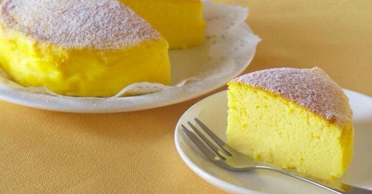 El pastel de 3 ingredientes, el más fácil del mundo.