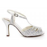 Pink Glow Bridal Shoes The Pink Glow Bridal Shoes are a retro styled dance shoe with T-strap encrusted in glittering rhinestones. $120.00 #bellissimabridalshoes #pinkbyparadoxlondon