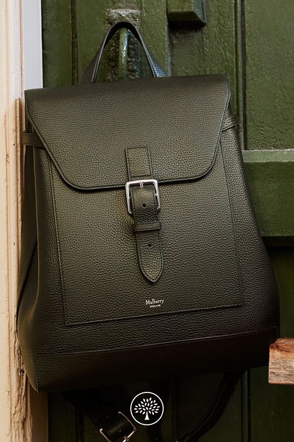 65a92289add2 Shop the Chiltern Backpack in Racing Green at Mulberry.com. The Chiltern  collection puts