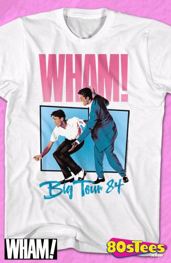 Big Tour 84 Wham T-Shirt