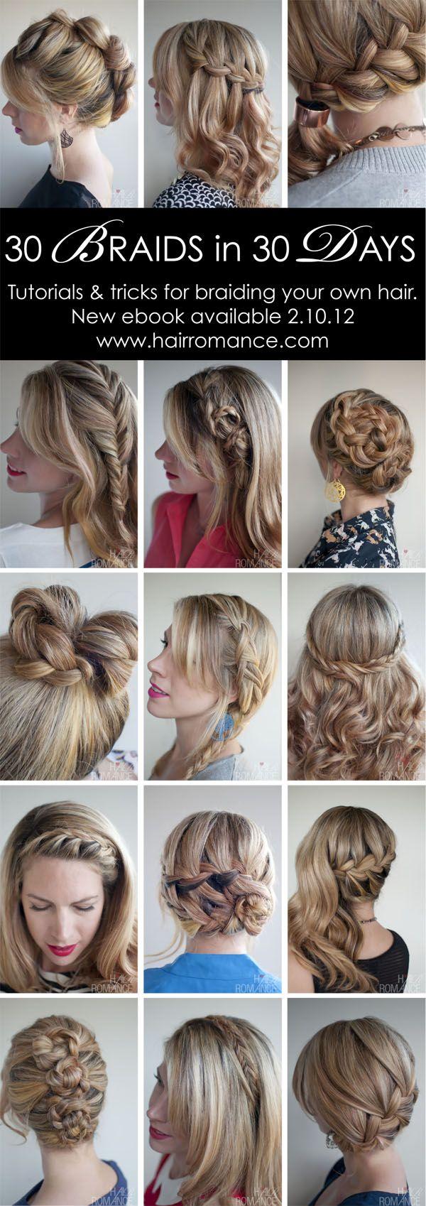 30 braids.