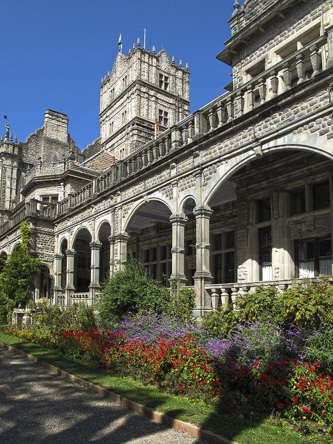 The Vice-Regal Lodge, the former palace of the kings services, Shimla, Pradesh, India