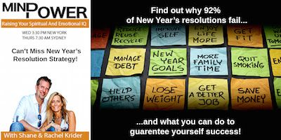Why do 92% of New Year's resolutions fail and what can you do to guarantee yourself success?  Like with most things in life, if you are not succeeding at something it is likely that you just don't know how to do it properly and I believe that there is a right and a wrong way to go about setting and achieving New Year's resolutions.