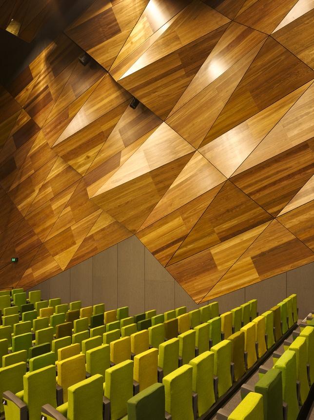 Melbourne Convention Center amphitheater interior | Large ...