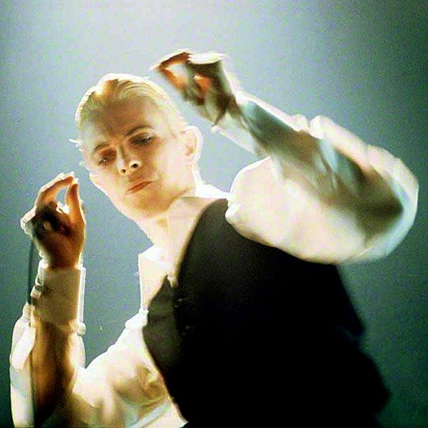 1976 Finger Click Duke Live - David Bowie Photos.. was this the inspiration for the malfoy character for the potter film?