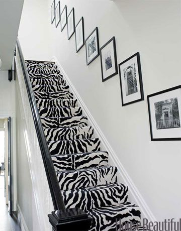 i just died and went to zebra heaven. If only i could talk Levi into something like this.. I would even settle for a zebra runner down the stairs...