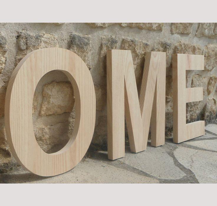 1000 id es sur le th me lettres d coratives en bois sur pinterest artisanat de lettre en bois. Black Bedroom Furniture Sets. Home Design Ideas