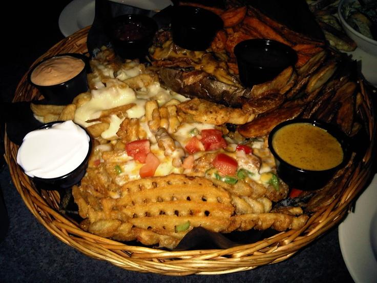 Potatoe platter at McCabes