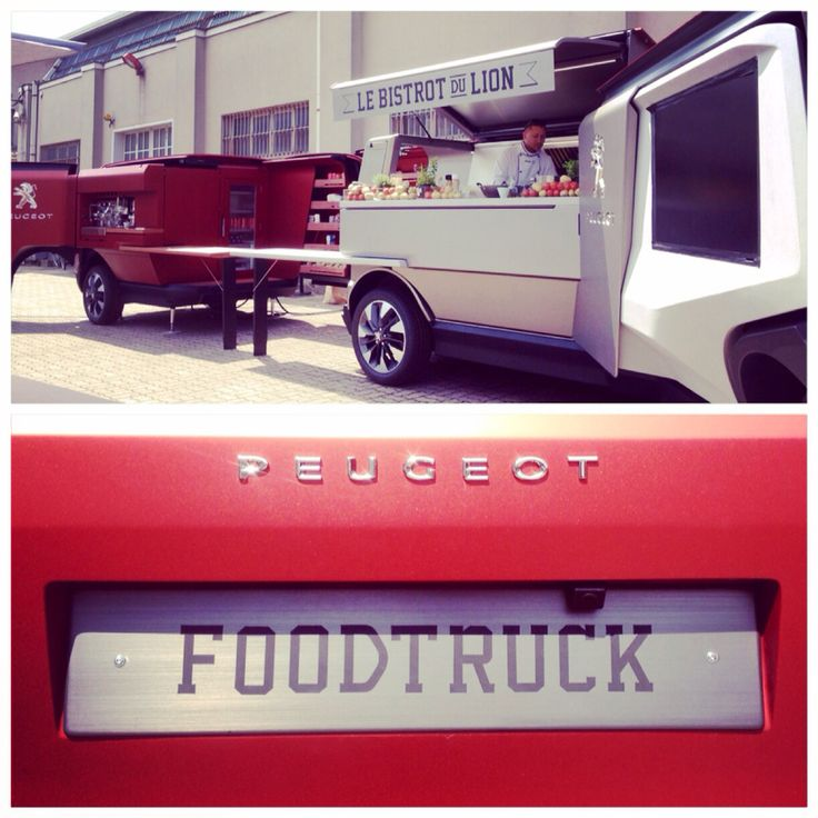 Spotted during #salonedelmobile in #milan at #tortona. A #foodtruck beast by Peugot.