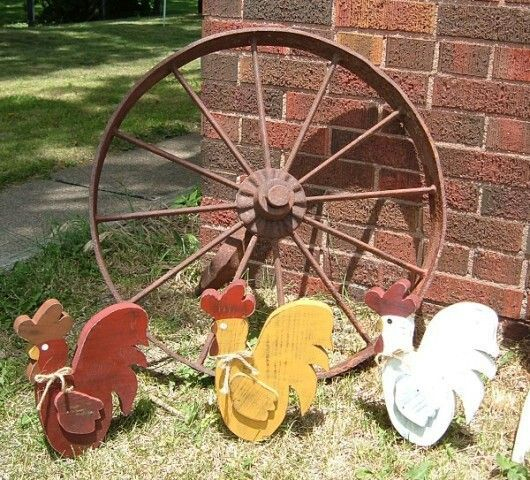 Country Yard Decor | Nice For A Country Yard Setting.