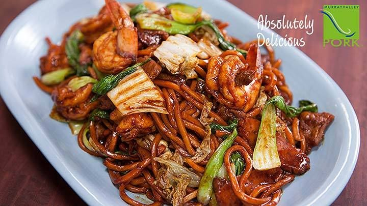 Dark Hokkien Noodles - Recipe from Everyday Gourmet with Justine Schofield