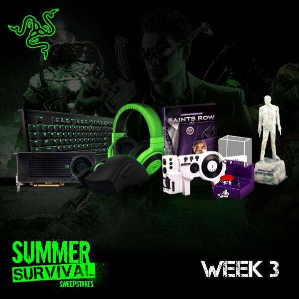 Want To Win Sweet Razer Gear A NVIDIA GeForce GTX 760 And Saints Row IV Super Dangerous Wub Edition Our Friends At Are Holding Contest
