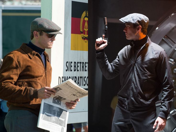 Armie Hammer stuck the the Turtle Necks while Henry Cavill rocks the suits