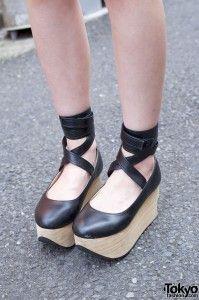 Bodyline Rocking Horse Shoes in Harajuku