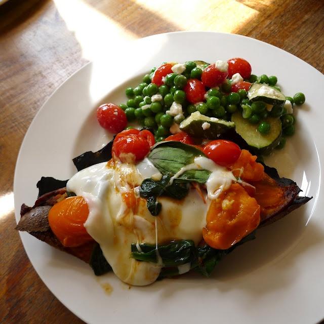 salad with basil fresh mozzarella onions cantaloupe salad with basil ...