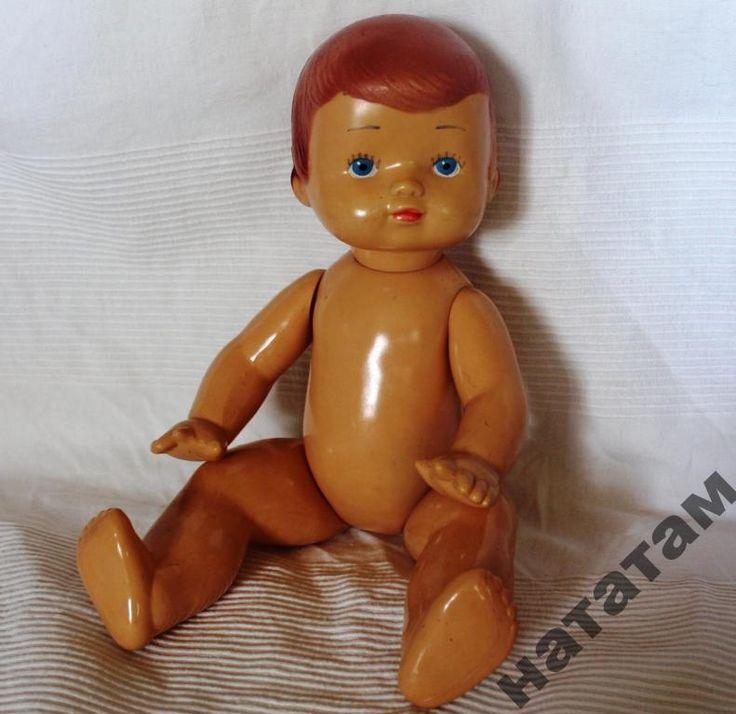 Кукла Советская- целлулоид