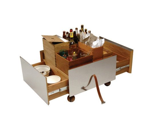 Toto Bar Cart di Espasso | Carrelli portavivande / carrelli bar