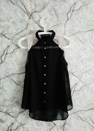 #czarna #mgiełka #atmosphere #Black #koszula #guziki