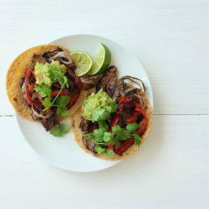 Quick Carne Asada Tacos by Jessica Seinfeld