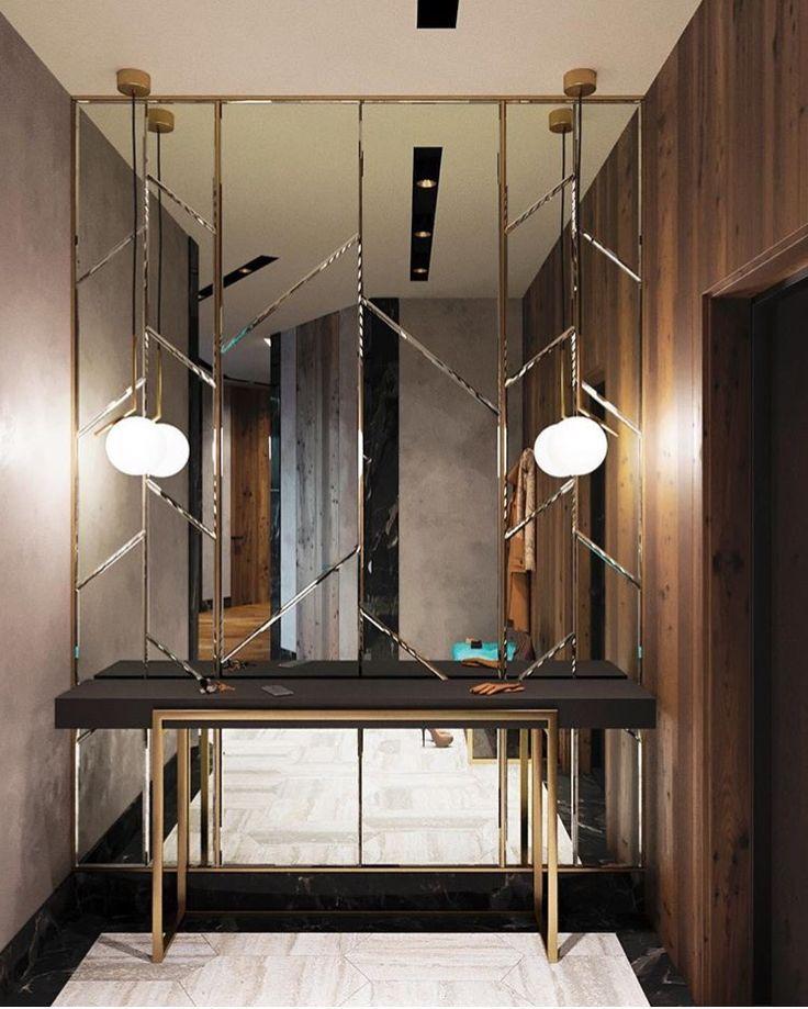 Konsole Und Spiegelwand Flur Amp Eingangsbereiche