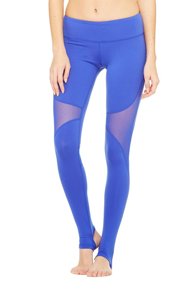 Coast Legging - Deep Electric Blue at ALO Yoga