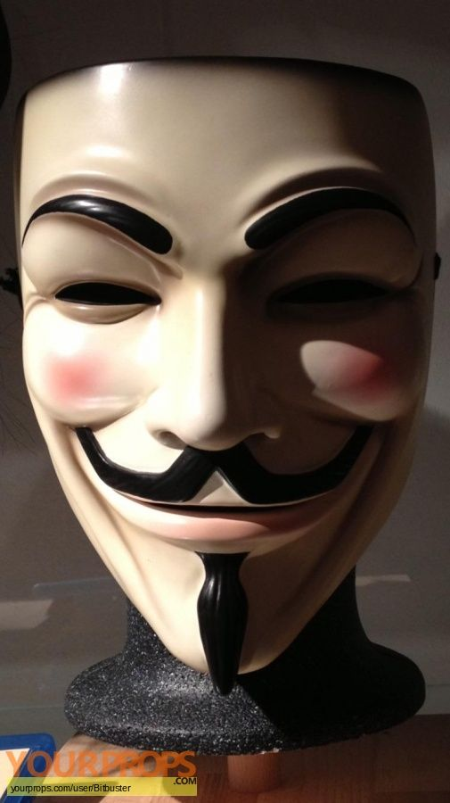 V for Vendetta original movie prop