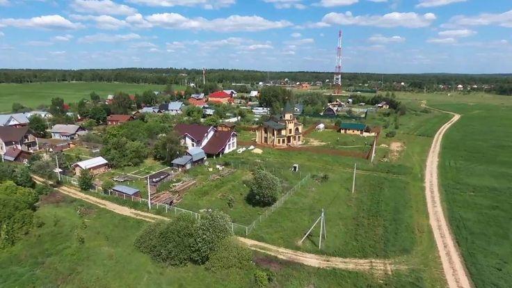 Истринский район, деревня новоселово полеты на квадрокоптере parrot bebop2