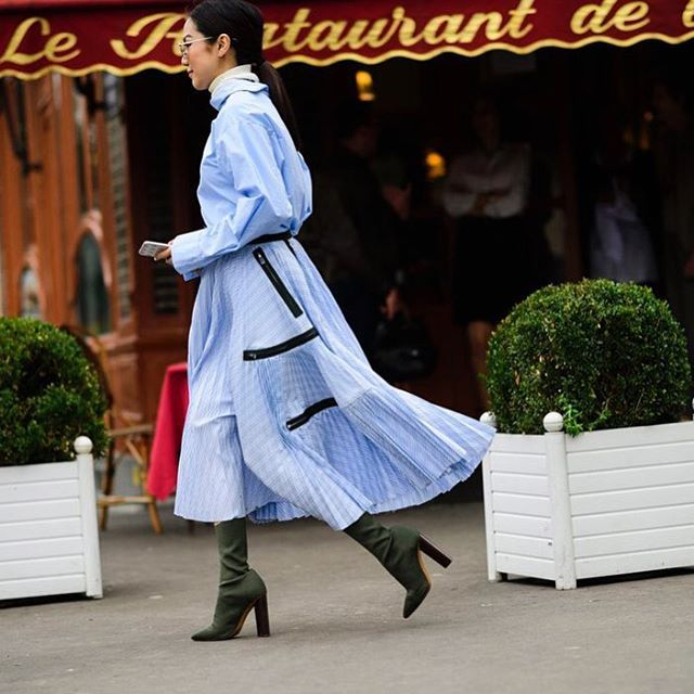 Nothing but blue skies ahead || @nyavgjoe via ELLE USA MAGAZINE OFFICIAL INSTAGRAM - Fashion Campaigns  Haute Couture  Advertising  Editorial Photography  Magazine Cover Designs  Supermodels  Runway Models