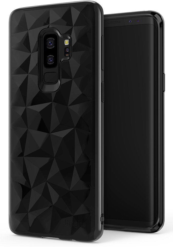 Galaxy S9 Plus Case Flexible Jewel Textured Protective Tpu Resistant Cover Black Celulares