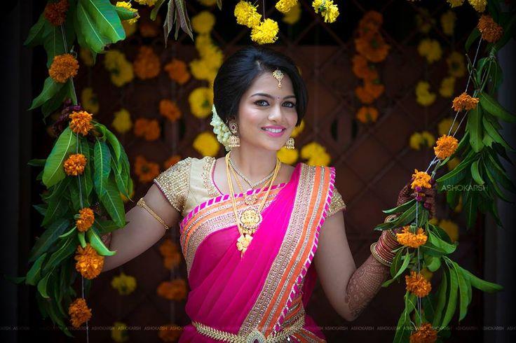 Bright#pink#lehenga#nice#pc#ashok# www.shopzters.com