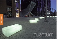 QUANTUM design led benches  QUANTUM panchine di design con led