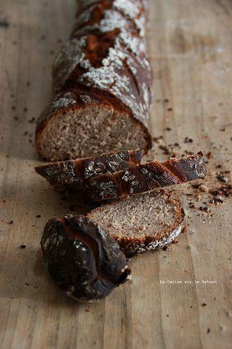 Pain à la chataigne - chestnut bread
