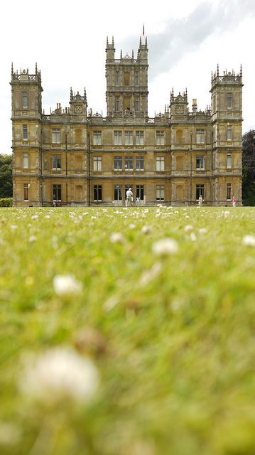 Highclere Castle -Downton Abbey-, Hampshire, England, UK