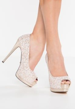 Buffalo - Platoo-avokkaat - glitter white/gold